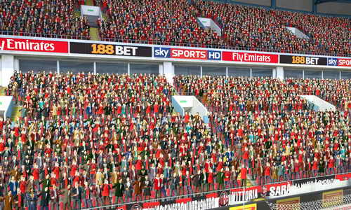 PES 2015 Crowds Effects Version 2 by RiverJin Ketuban Jiwa