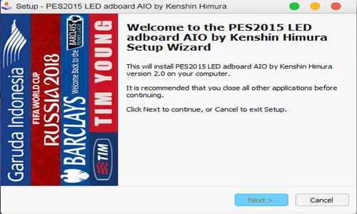 PES 2015 LED Adboard All In One AIO by KenshinHimura