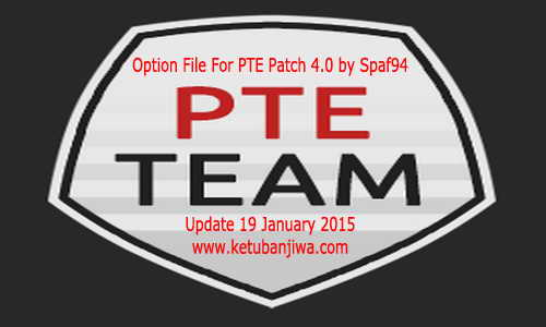 PES 2015 Option File PTE Patch 4.0 (19-01-15) by Spaf94 Ketuban Jiwa