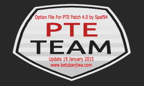 PES 2015 Option File PTE Patch 4.0 (19-01-15) by Spaf94 Ketuban Jiwa