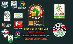 PES 2015 PESMix Patch v2.0+Egyptian Premier League by FTP Team Ketuban Jiwa
