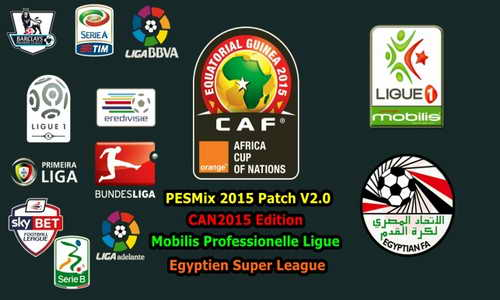 PES 2015 PESMix Patch v2.0+Egyptian Premier League by FTP Team Ketuban Jiwa