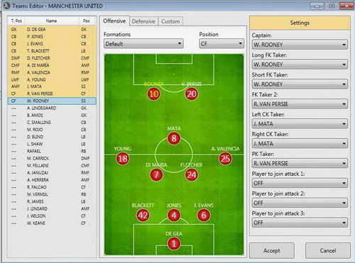 PES 2015 PESNextGen Editor Tools Alpha 0.7.2 For PC