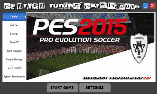 PES 2015 PESTIGS Tuning Patch v1.02.00.2.00.1.0