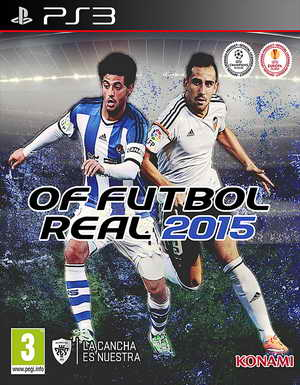 PES 2015 PS3 OF/FO Futbol Real Beta 1 by Manelinho
