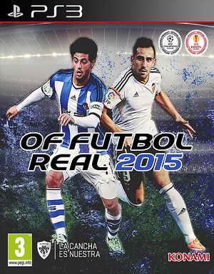 PES 2015 PS3 OF/FO Futbol Real Beta 1 by Manelinho Ketuban jiwa
