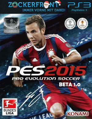 PES 2015 PS3 Zockerfront Bundesliga Patch Beta v.1.0 Ketuban Jiwa