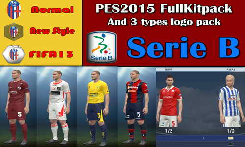 PES 2015 Serie B Kitpack+3 Logopack Style by Sepahan-pc
