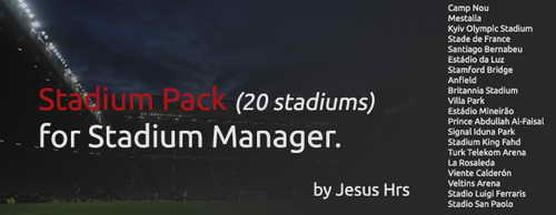 PES 2015 Stadium Pack (20) For PTE Patch by JesusHrs