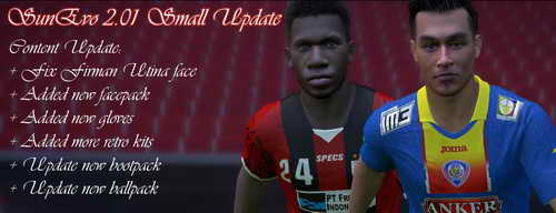 PES 2015 SunEvo Patch 2.01 Small Update Fix Released