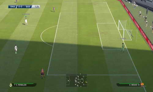 PES 2015 Turf Texture Mod v3+v4 Grainy by Fruits