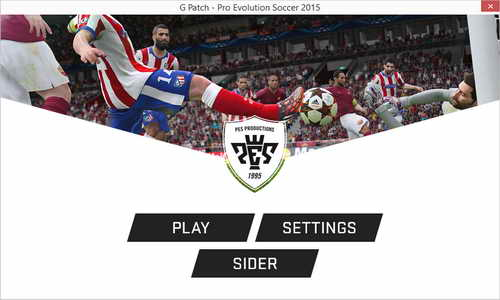 Pro Evolution Soccer PES 2015 G Patch v0.1 Single Link
