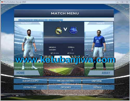 PES 2010 Editions For Patch PESEdit Style Update 2015 Ketuban Jiwa SS2