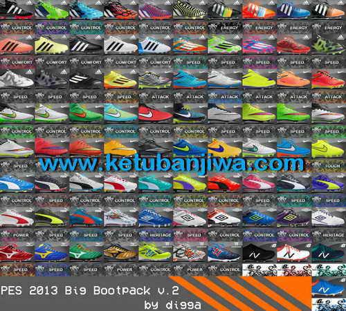 PES 2013 Latest Update Big Bootpack v.2 by Digga Ketuban Jiwa