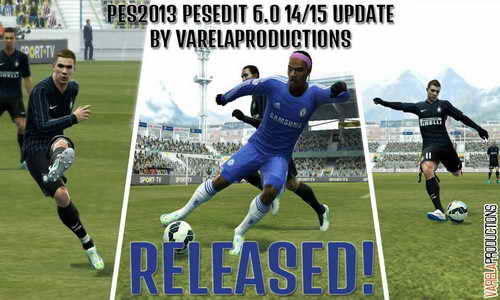 PES 2013 PESEdit 6.0 Winter Transfer 2015 by VarelaProductions