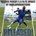 PES 2013 PESEdit 6.0 Winter Transfer 2015 by VarelaProductions