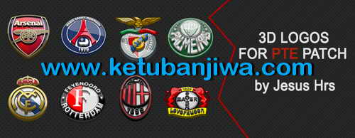 PES 2015 3D Logos-Emblems For PTE Patch 5.0 by JesusHrs Ketuban Jiwa