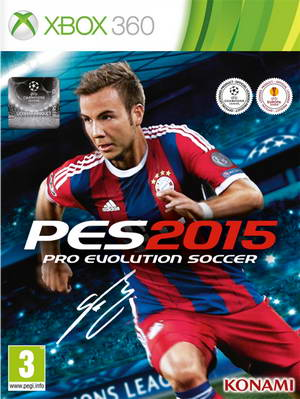 PES 2015 DLC 3.00 XBOX360 Official Datapack+Patch 1.03