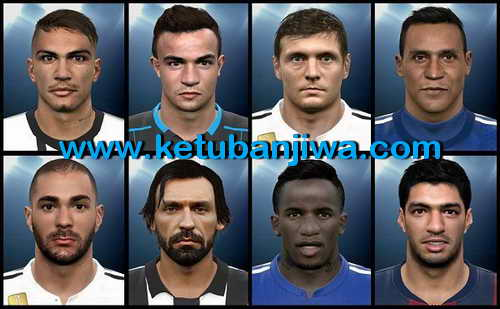 PES 2015 Facepack Internacional Vol.1 by Euler Ketuban Jiwa