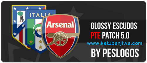 PES 2015 Glossy Escudos For PTE Patch 5.0 by PESLogos Ketuban Jiwa