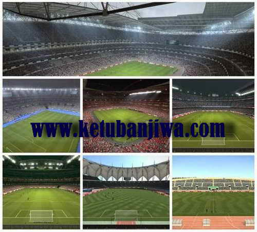 PES 2015 High Quality Stadium Pack v2.2 by NikoLiberty4