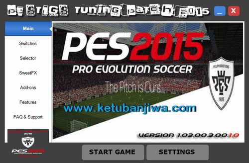 PES 2015 PESTIGS Tuning Patch Update v1.03.00.3.00.1.0