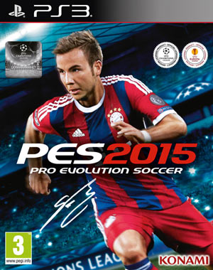 PES 2015 PS3 DLC 3.0+Patch 1.03 BLES 02088/BLUS 31480