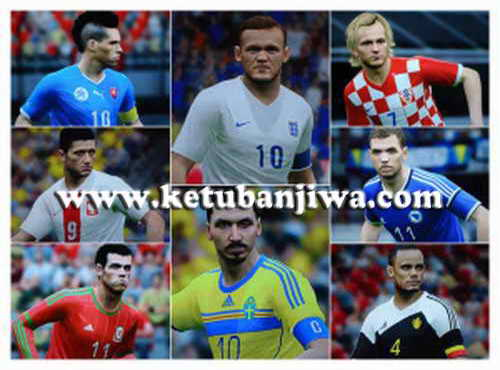 PES 2015 PS3 Option File Update Glatiatore v4.0 BLUS