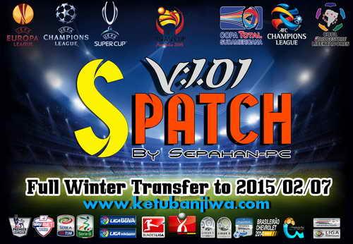 PES 2015 S-Patch Full Winter Transfer by Sepahan-pc Ketuban Jiwa