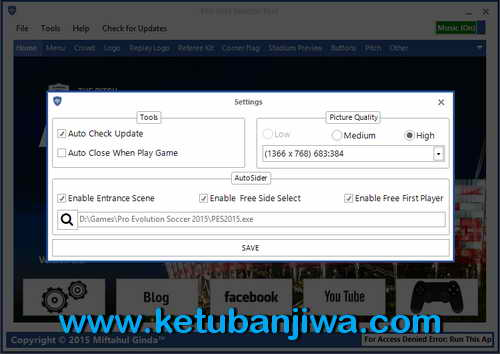 PES 2015 Selector Tools Update v2.2 by Ginda01