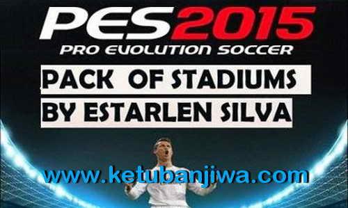 PES 2015 Stadiums Pack v2 For PTE 5.0 by EstarlenSilva