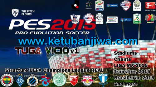 PES 2015 Tuga Vicio Patch 1.0+Fix 1.0.1 Support DLC 3.00