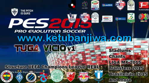 PES 2015 Tuga Vicio Patch v1.1 Fix Update 19/02/15