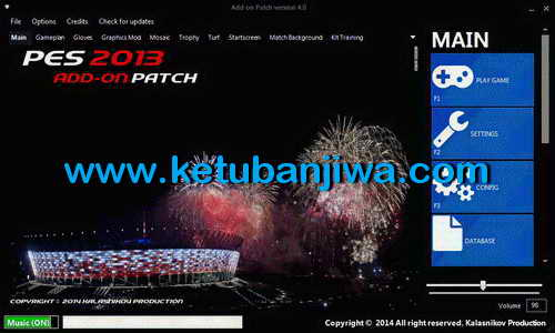 PES 2013 PESEdit 6.0 Add-on Patch 4.0 AIO by Kalasnikov Ketuban Jiwa