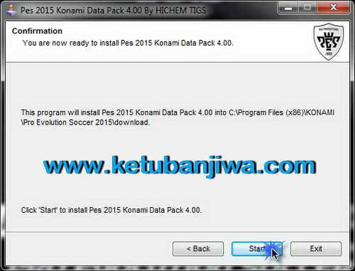 PES 2015 Auto Install DLC 4.0 Update by Hichem Tigs Ketuban Jiwa SS3