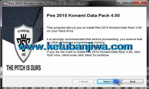 PES 2015 Auto Install DLC 4.0 Update by Hichem Tigs Ketuban Jiwa