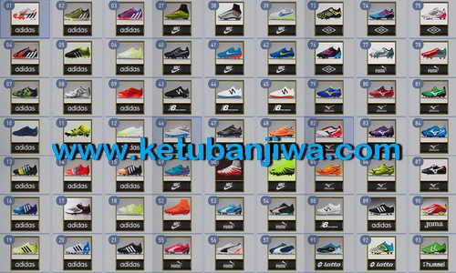 PES 2015 Actual Bootpack Collection Update 21-03-15 Ketuban Jiwa