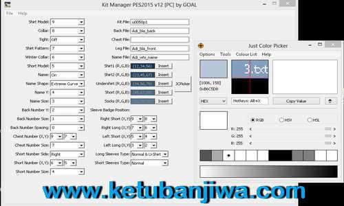 PES 2015 Kit Manager Tools v12 by Goal Ketuban Jiwa