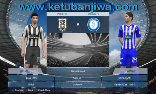 PES 2015 PES-HELLAS Patch v2.00 Full Greek Superleague