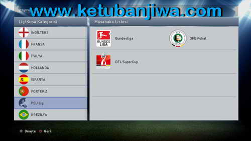 PES 2015 PES Nation Ultimate v1.0 Compatible DLC 4.00 Ketuban Jiwa SS1