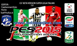 PES 2015 PS3 Option File Super Lega Italian Beta 1.0 Ketuban Jiwa