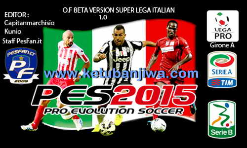 PES 2015 PS3 Option File Super Lega Italian Beta 1.0