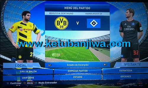 PES 2015 PS3 Option File Update Glatiatore v6.0 BLUS