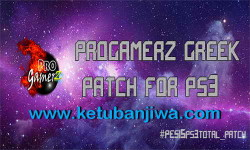 PES 2015 PS3 ProGamerZ Greek Total Patch v1 Ketuban Jiwa