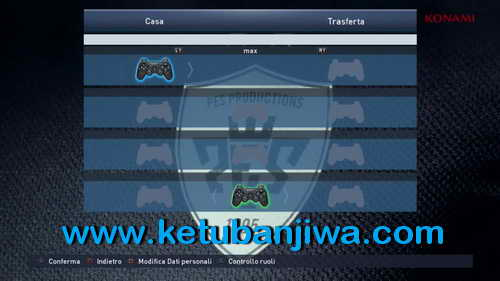 PES 2015 Playstation 3-PS3 Button For PC by Maze32 Ketuban Jiwa SS1