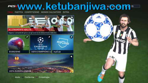 PES 2015 Playstation 3-PS3 Button For PC by Maze32 Ketuban Jiwa SS2