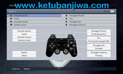 PES 2015 Playstation 3-PS3 Button For PC by Maze32 Ketuban Jiwa