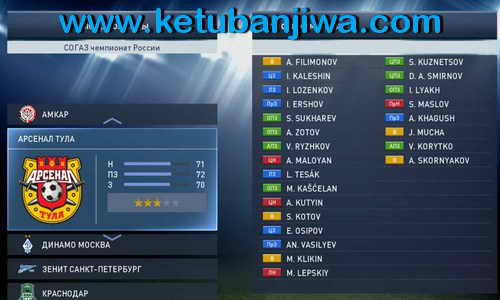 PES 2015 RPL Patch Update 0.2.3 DLC 3.0+1.03 by ZZ-Top
