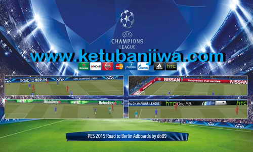 PES 2015 Road to Berlin Adboards by Db89