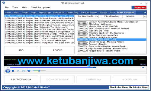 PES 2015 Selector Tools v3.0 Update by Ginda01